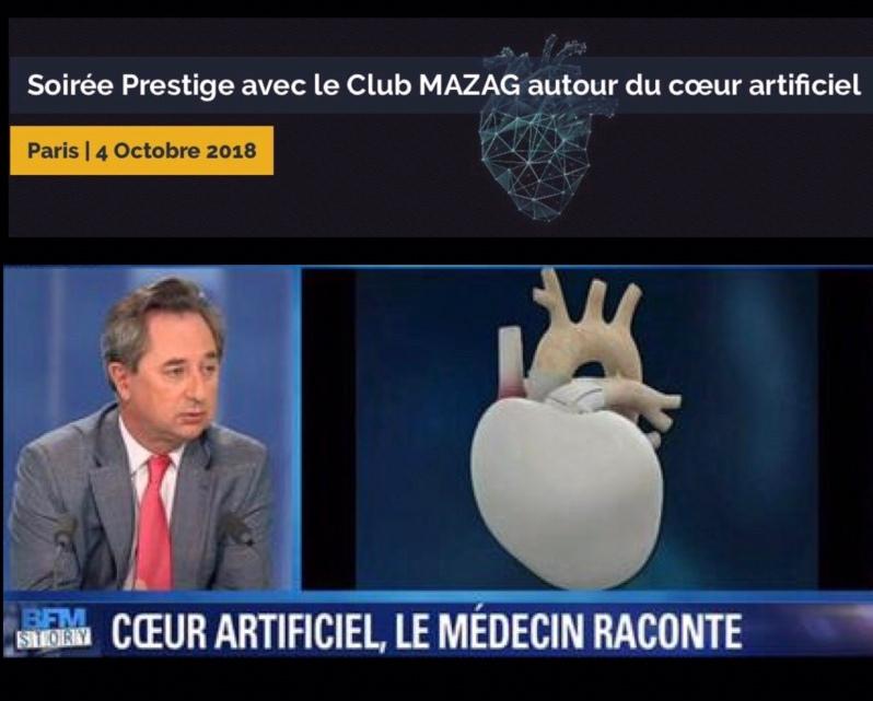 soirée club mazag & cast / 4 octobre 2018 / histoire du coeur